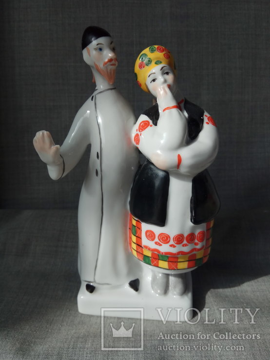 Дьяк и Солоха Киев