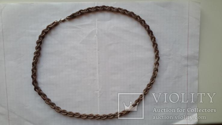 Цепочка серебряная,46,13г.,длина~61см.