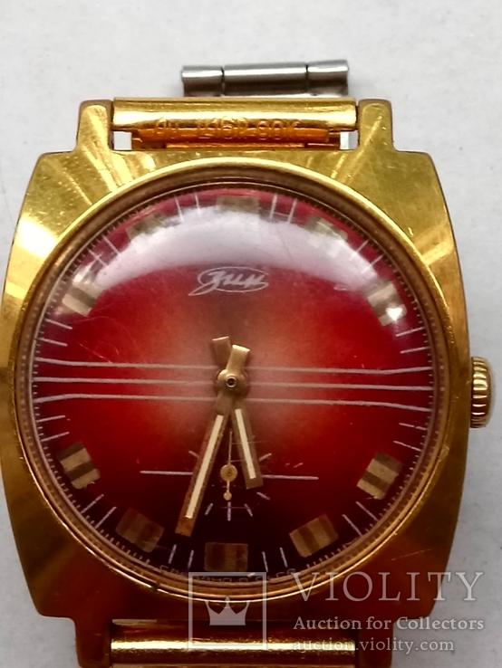 Часы ЗИМ позолота au10 и браслет позолота au СССР