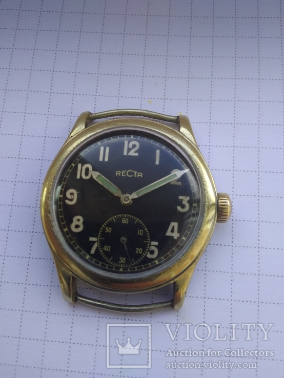 Швейцарские часы Recta
