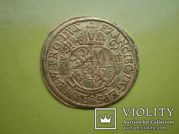 Дукат г. Бамберг 1638 г. Германия
