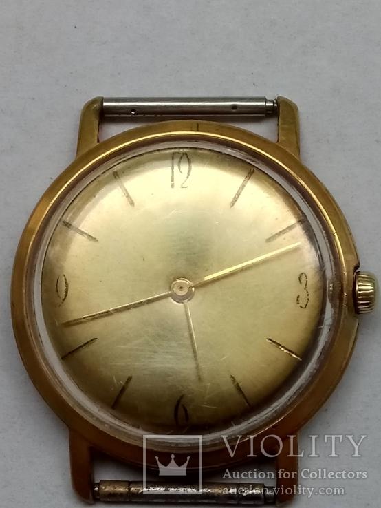 Часы Восток au 20 позолота бонус коробочка от часов Полет