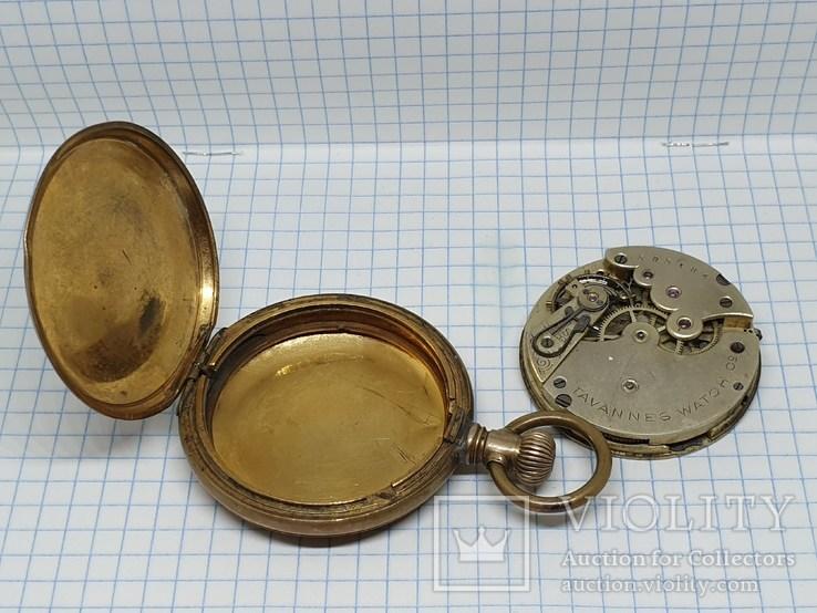 Старинные карманные с механизмом Tavannes Watch C2