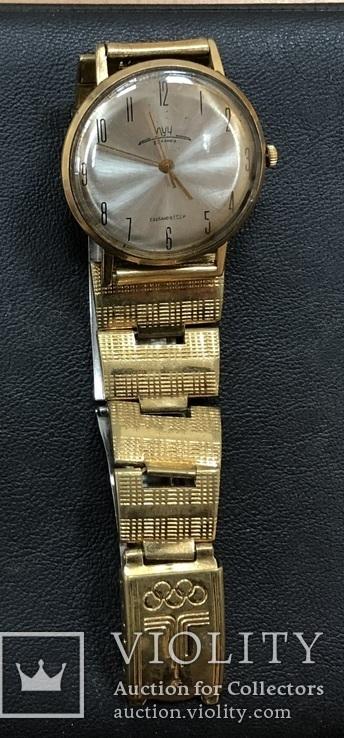 Наручные часы Луч AU 20 На ходу + браслет