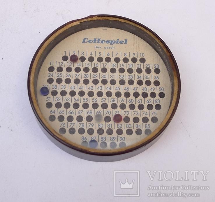 Немецкая игра до 1945 г. Lottospiel. Ges. Gesch.
