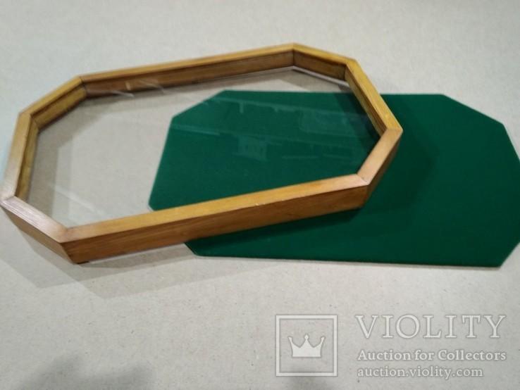 Восьмиугольная рамка для винтовых наград, фото №3