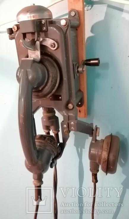 Телефон корабельный антикварный - ретро СССР 1960х, фото №3