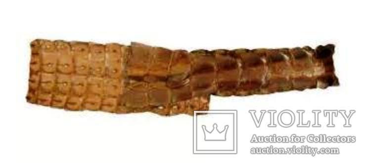 Пояс из кожи крокодила, фото №2