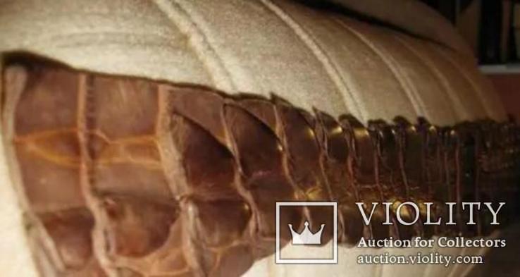 Пояс из кожи крокодила, фото №3