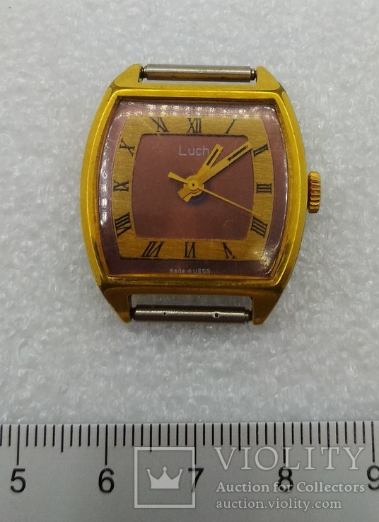 Часы Луч на ходу AU 10, фото №4