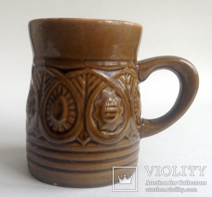 Кружка для пива / кваса Кварта. Керамика., фото №2
