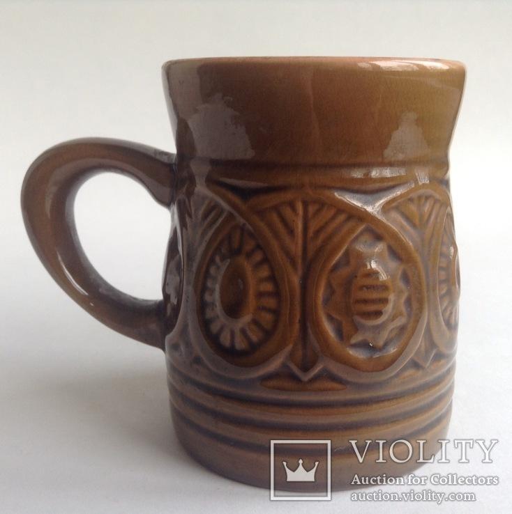 Кружка для пива / кваса Кварта. Керамика., фото №3