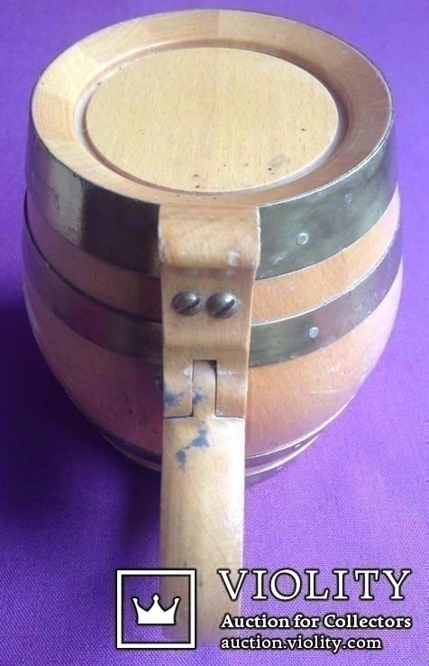 Кружка для пива / кваса *Куйбышевский сувенир*., фото №3
