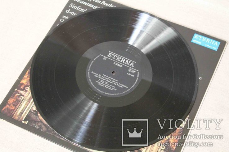 Пластинки 2 шт. Ludwig van Beethoven, фото №12