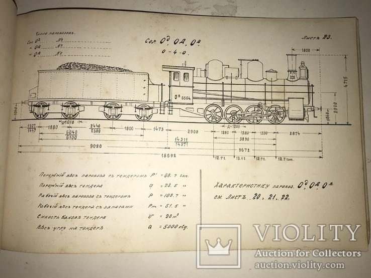 1916 Альбом Паровозов Юго-Западная Железная Дорога, фото №7