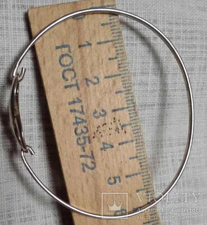 """Браслет со знаком """"бесконечности"""" 925 (5грамм), фото №3"""