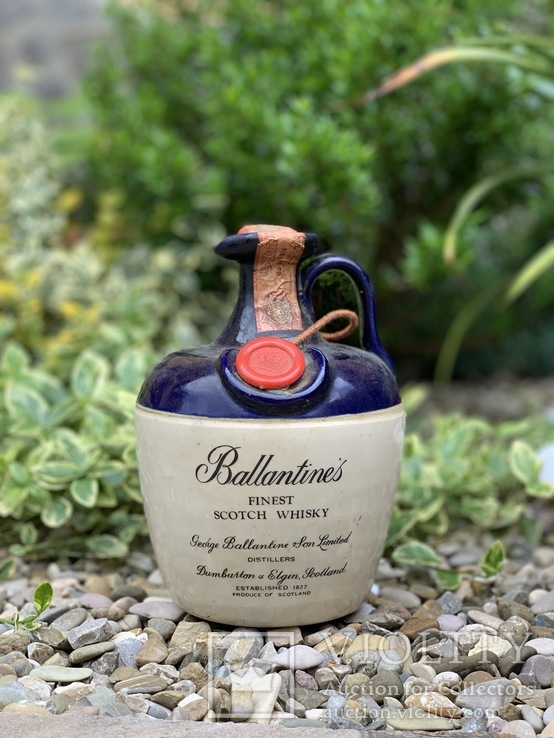 Whisky Ballantine's finest ceramic 1970s