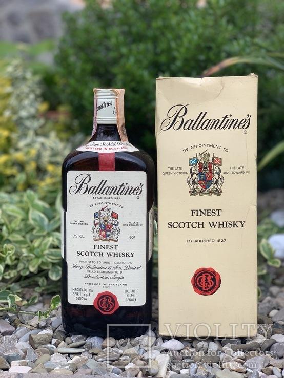 Whisky Ballantine's finest 1980s