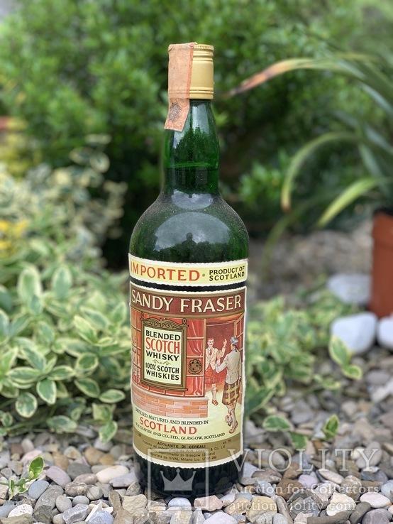 Whisky Sandy Fraser 1970s