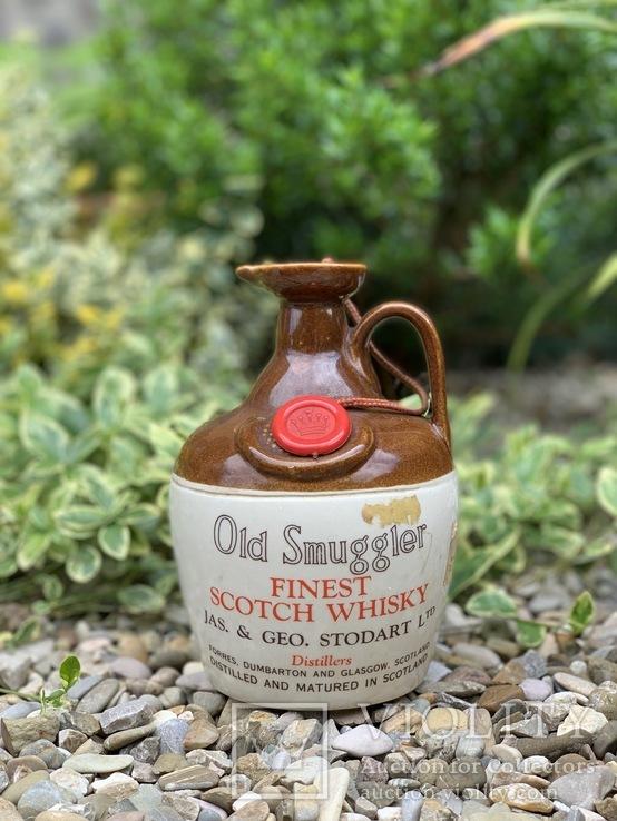 Whisky Old Smuggler ceramic 1970s