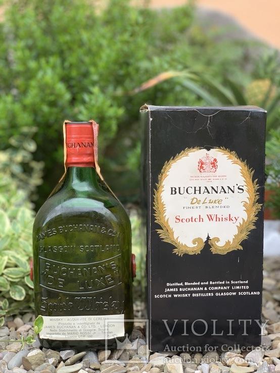 Whisky Buchanans de luxe 1960s