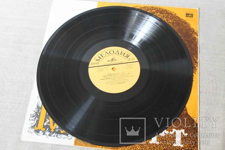 Пластинка. Моцарт. Симфония №24/ №40, фото №8