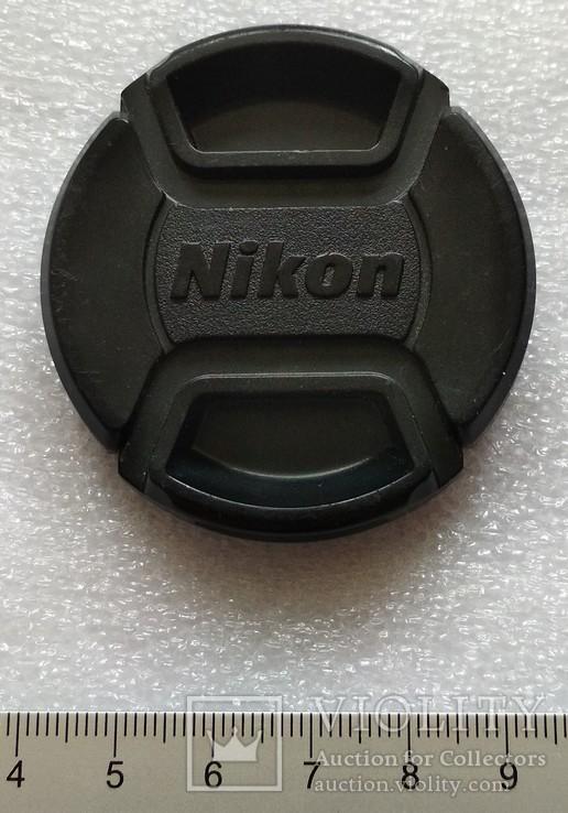 Nikon передняя крышка на объектив 52 мм. LC-52, фото №2