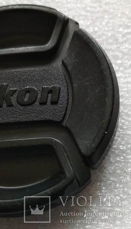Nikon передняя крышка на объектив 52 мм. LC-52, фото №4
