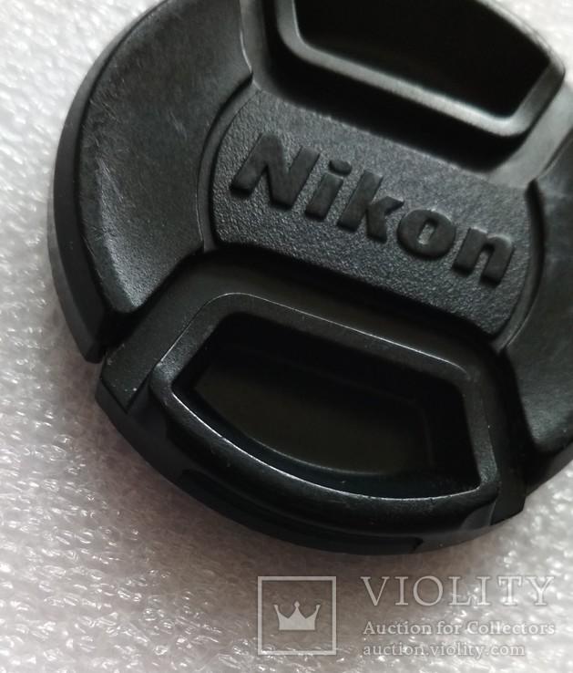 Nikon передняя крышка на объектив 52 мм. LC-52, фото №5