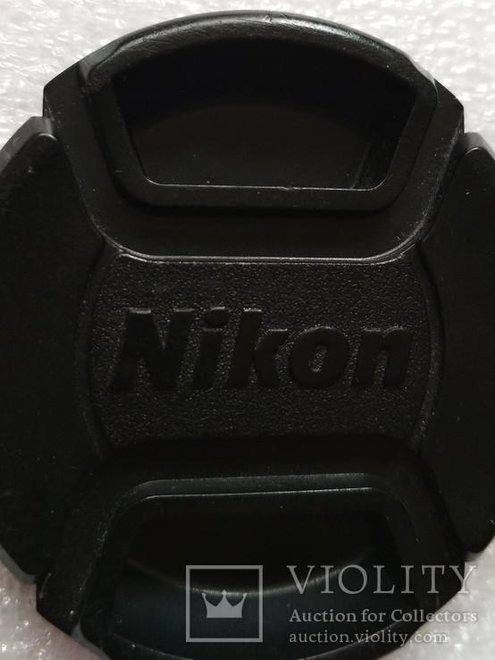 Nikon передняя крышка на объектив 52 мм. LC-52, фото №6
