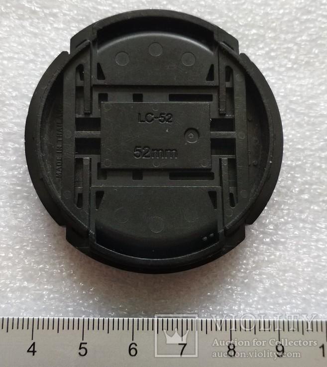 Nikon передняя крышка на объектив 52 мм. LC-52, фото №7