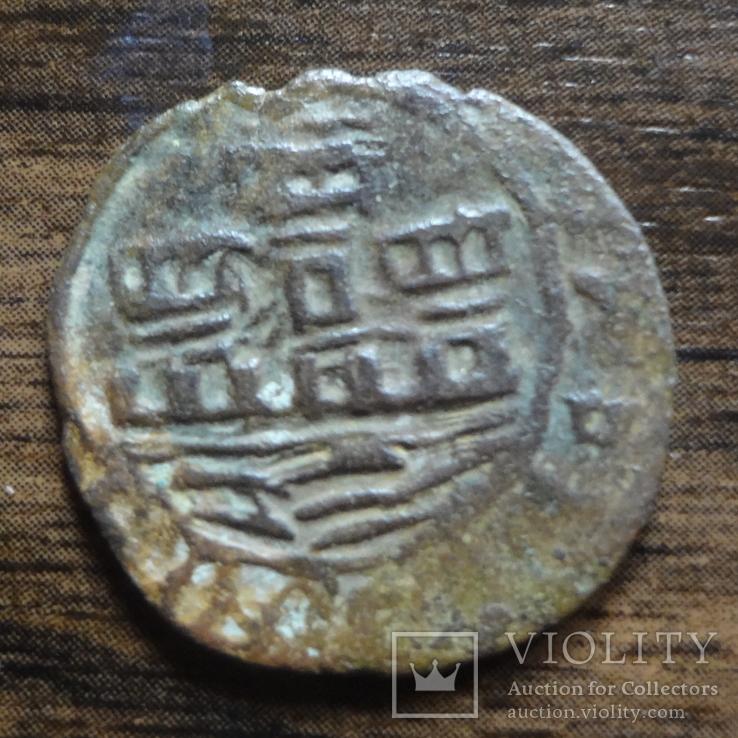 1 сейтил 1/6 реала  (1521-1557)  Португалия  Жуан III  (Л.10.21)~