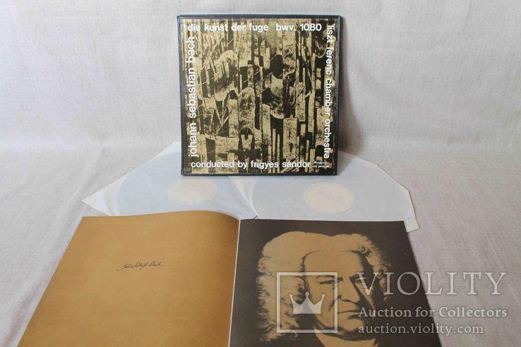 Пластинки 2 шт. J. S. Bach- Die Kunst Der Fuge, фото №2