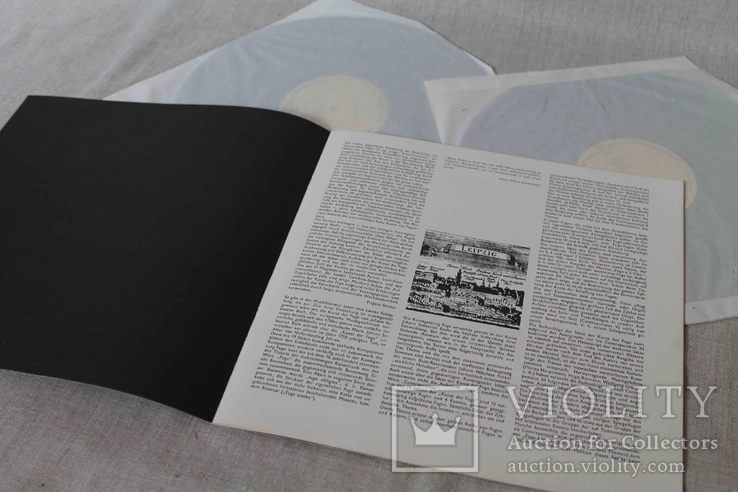 Пластинки 2 шт. J. S. Bach- Die Kunst Der Fuge, фото №8