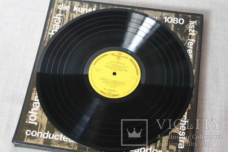 Пластинки 2 шт. J. S. Bach- Die Kunst Der Fuge, фото №10