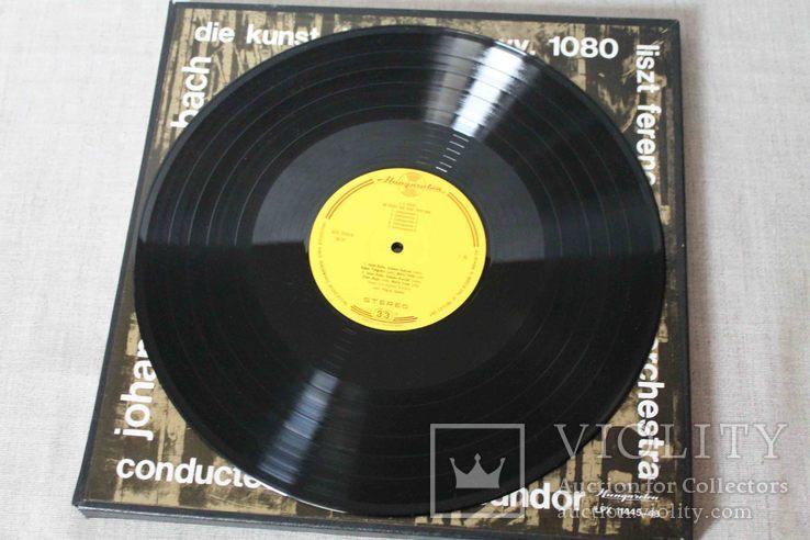 Пластинки 2 шт. J. S. Bach- Die Kunst Der Fuge, фото №13