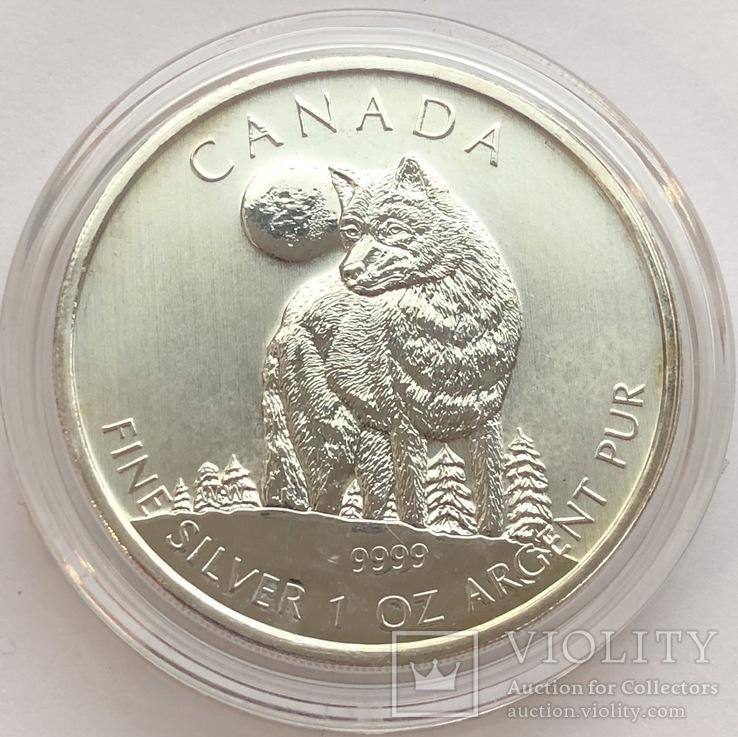 5 $ 2011 год Канада 31,1 грамм 999,9'