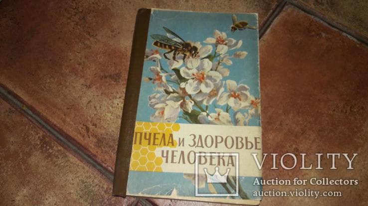 Книга пчела и здоровье человека пасика мёд 1964