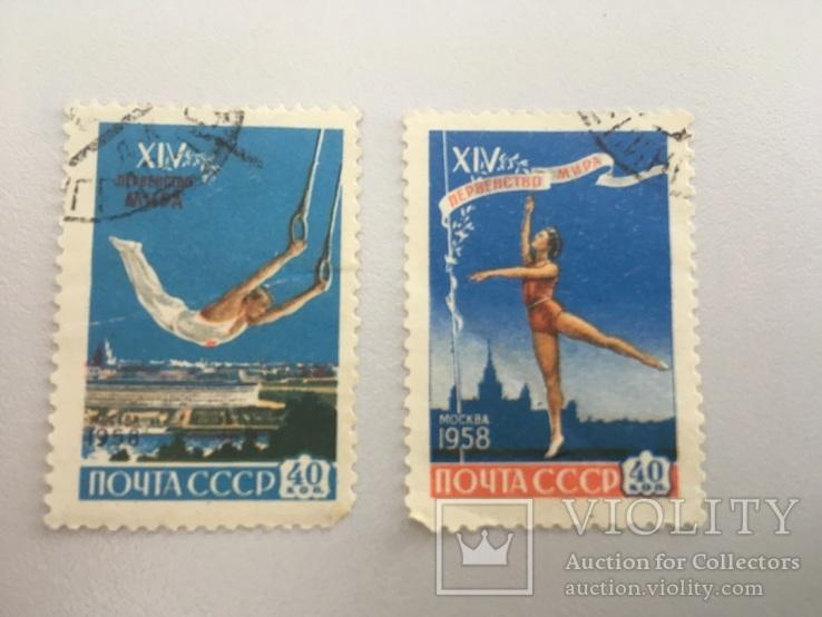 Первенство мира по гимнастике в Москве 1958 год, фото №2