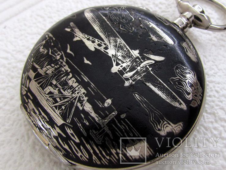 Systeme Roskoff Антикварный Swiss уникальный корпус от карманных часов, фото №5