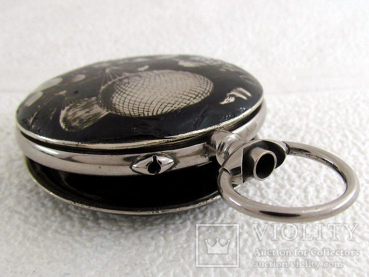 Systeme Roskoff Антикварный Swiss уникальный корпус от карманных часов, фото №10