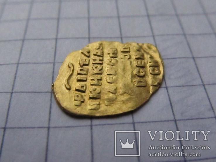 Золотая чешуя - Золотой в 1/4 Угорского Алексея Михайловича, фото №6