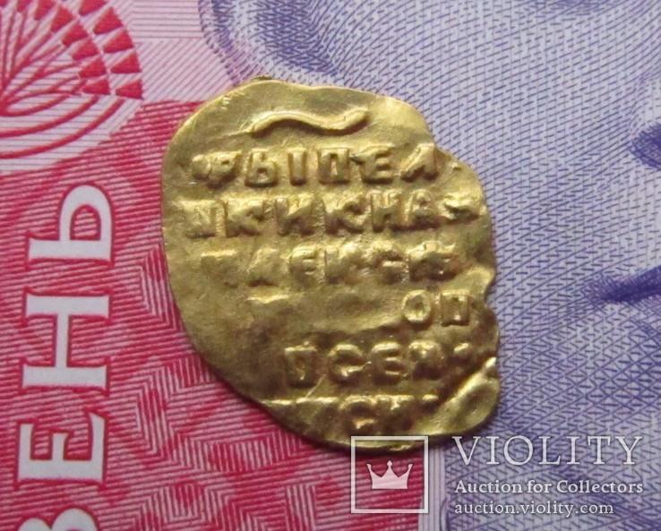 Золотая чешуя - Золотой в 1/4 Угорского Алексея Михайловича, фото №11