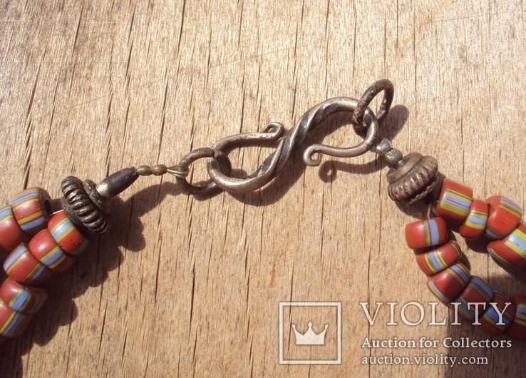 Торговые бусы, старая венецианка, 19 век., фото №5