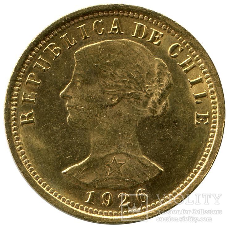 100 Песо 1926г. Чили
