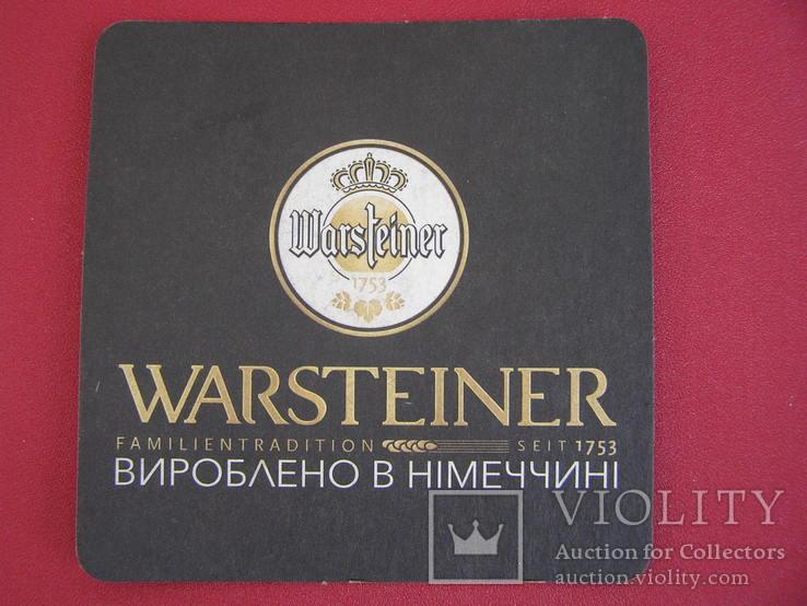 """Бирдекель """"Warsteiner"""", фото №2"""