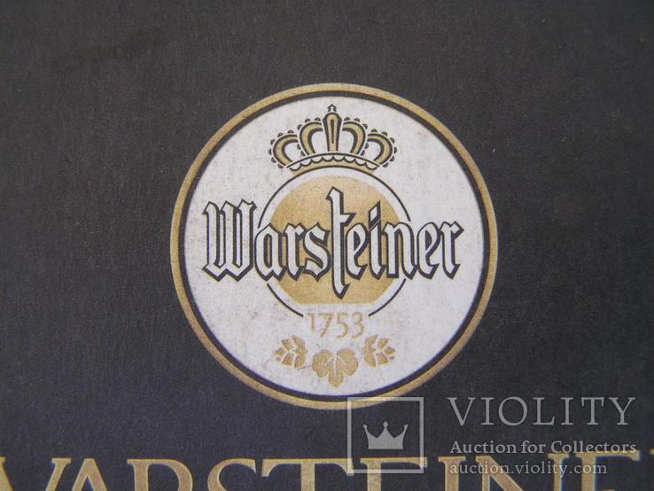 """Бирдекель """"Warsteiner"""", фото №4"""