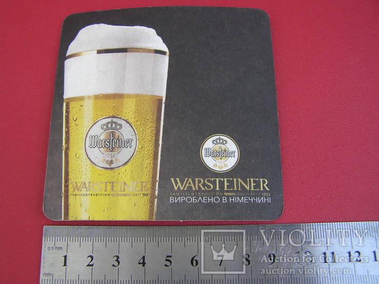 """Бирдекель """"Warsteiner"""", фото №5"""