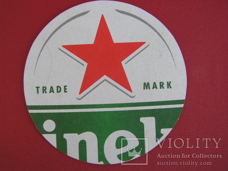 """Бирдекель пиво """"Heineken"""", фото №2"""