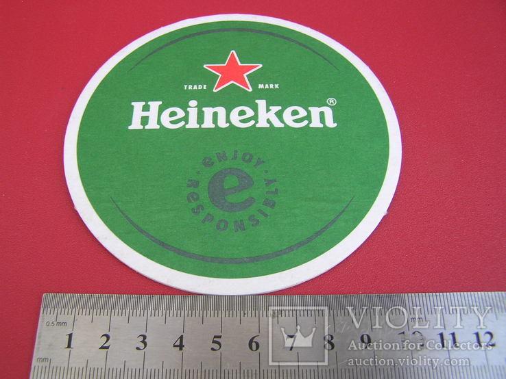 """Бирдекель пиво """"Heineken"""", фото №5"""